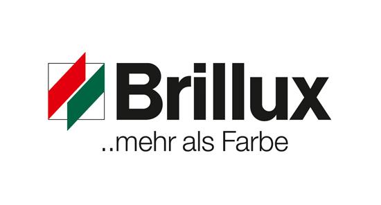 Logo der Firma Brillux ..mehr als Farbe