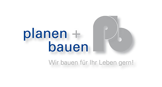 Logo der Firma planen + bauen