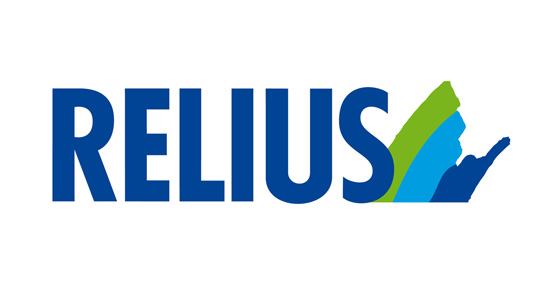 Logo der Firma Relius